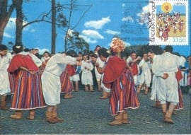 1982 MADEIRA - Folklore dance