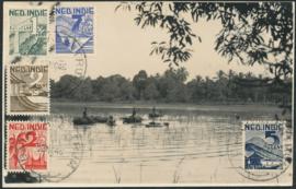 ®®®® 1946 - CATA 317/21 NED-INDIË Landschap