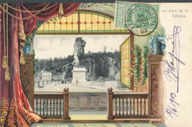 © 1903 - BELGIUM Coat of arms Lion