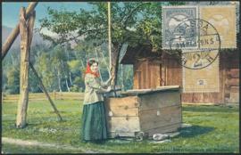 © 1914 - HUNGARY T-shaped sweep well