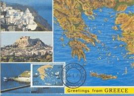 1978 GREECE - Map