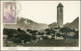 © 1934 - ANDORRA St. Michael's church