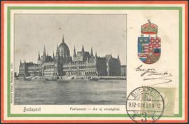 © 1902 - HUNGARY St. Stephen's crown