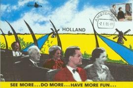 2006 NETHERLANDS Dutch mills tourists