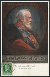 © 1918 - BAVARIA King Ludwig III