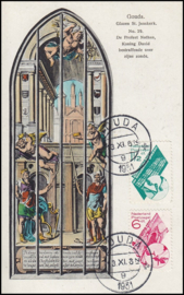 © 1931 NETHERLANDS Gouda St. John's Church