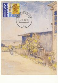 ® 2003 - CATA 2140 Schuurtje met zonnebloemen