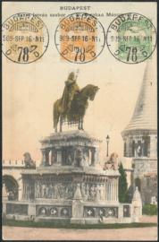 © 1909 - HUNGARY St. Stephen's crown