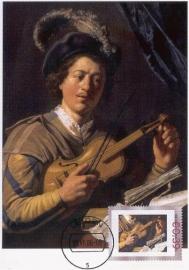 PD01 J. LIEVENS Violin player