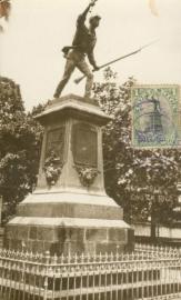 © 1932 COSTA RICA Statue Juan Santa Maria