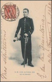 © 1900 - SPAIN - King Alfonso XIII