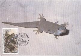 1984 GUERNSEY - Gecko