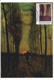 PG053 Van Gogh Lane of Poplars