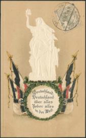 © 1919 - GERMAN REICH - National Statue Germania