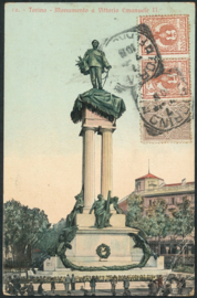 © 1910 - ITALY - House of Savoy Coat of arms