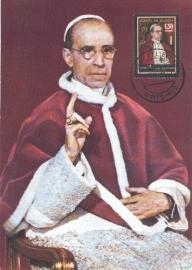 1958 ECUADOR - Pope Pius XII
