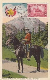 © 1939 - CANADA Mounted police