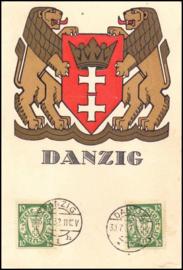 © 1932 - DANZIG Coat of arms