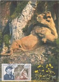 1971 FRANCE - Lion of Belfort