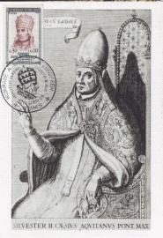 1964 FRANCE - Pope Sylvestre II