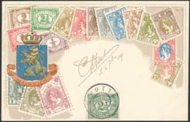 ® 1909 - CATA 55 Cijferzegels