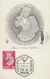 1958 ARGENTINA Antarctica