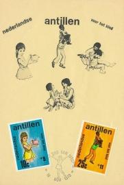 ®® 1970 NVPH 431/33 NED. ANT. Kinderzegels