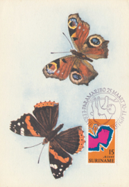 ®®® 1970 - CATA 530 - SURINAME Vlinder