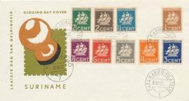 ¤¤¤ 1936 SURINAME Scheepje