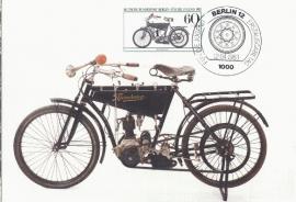 1983 GERMANY - Motor cycle Wanderer 1908