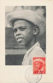 ®® 1948 - NVPH 201 CURAÇAO Jongensportret