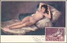 © 1930 - SPAIN - Nude Maja by Goya