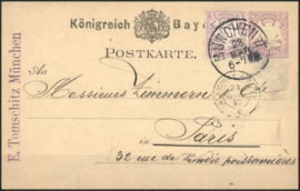 © 1892 - BAVARIA Coat of arms
