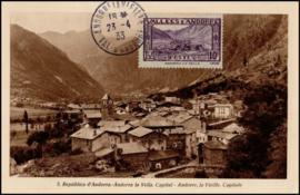 © 1933 - ANDORRA Andorre la Vieille