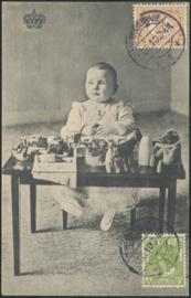 © 1910 NETHERLANDS Royal crown