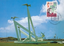 ®® 1990 NVPH 954 NEDERL. ANTILLEN Monument