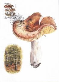 1996 SWEDEN - Mushroom Almond Russula
