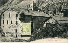 © 1929 - ANDORRA Local house La Vall