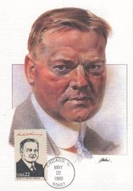 1986 USA - President Herbert Hoover