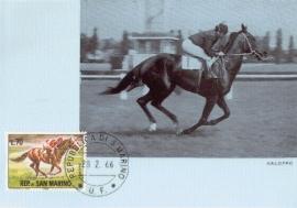 1966 SAN MARINO Horse racing