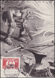 © 1935 - FINLAND Hammering of Sampo