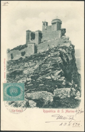 © 1901 - SAN ******** MARINO Three towers