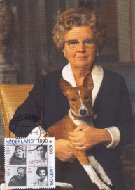 1990 NETHERLANDS Queen Juliana