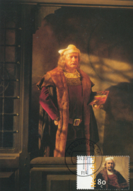 ø Rembrandt`s statue at Madame Tussaud