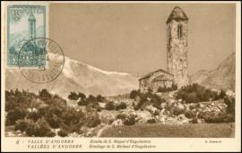 © 1935 - ANDORRA St. Michael's church