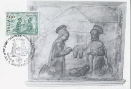 1988 ITALY - Birth of Christ