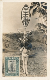 © 1936 - PAPUA Local mask
