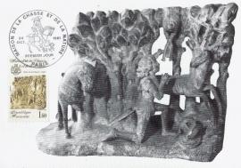1981 FRANCE - Sculpture St. Hubert