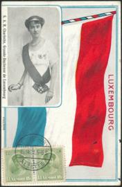 © 1921 LUXEMBOURG Grand Duchess Charlotte