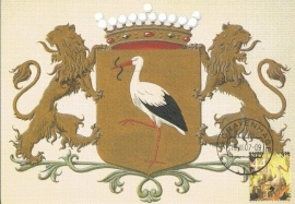 MOOI NEDERLAND 2007 - Den Haag City arms - Stork